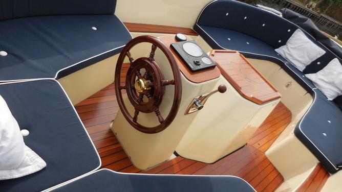 Antaris - 570 Sloep - Motorboot - Spitsgatsloep
