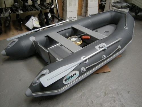 Bush rubberboot - 300 met houten vloer