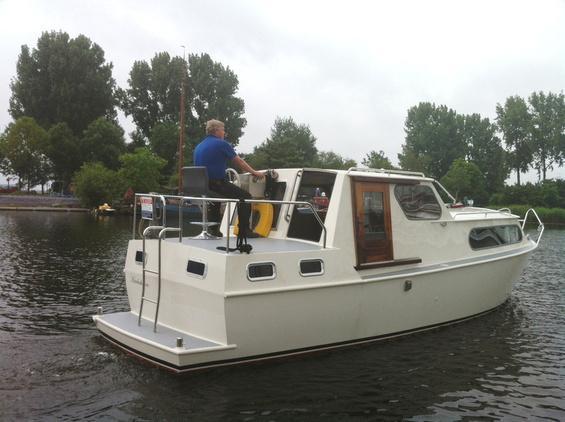 Motorboot - Achterkajuit