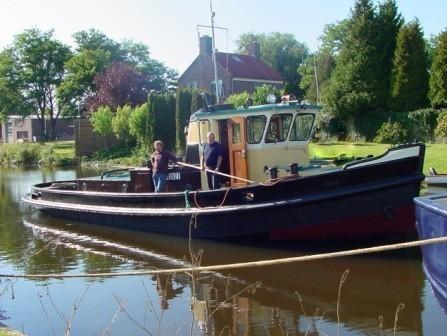 motorboot - sleepboot Flevo